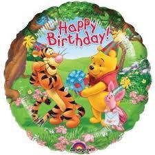 birthday baloon delivery pooh tigger piglet happy birthday balloon delivered inflated in