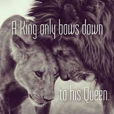 King And Queen Memes - king only bows down to his queen
