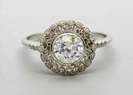 simple vintage style engagement rings siudy net