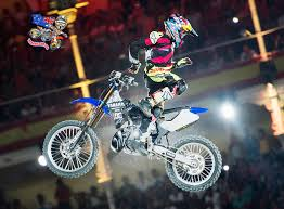 red bull freestyle motocross tom pagès makes historic madrid hat trick mcnews com au