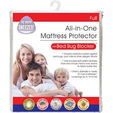 Pillow Top Mattress Pad Walmart Luxury Cotton Rich Bed Bug Blocker Zippered Mattress Protector
