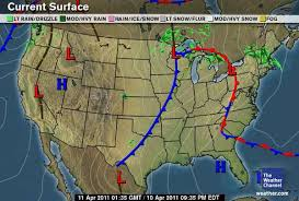 weather fronts map green sky chaser meteorology 101 contours and other symbols on