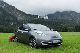 nissan leaf driving range nissan leaf goes the distance in drive across europe nissan