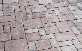Patio Interlocking Pavers The Progression Of A Patio Paver Project Brentwood Landscape