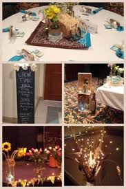 Western Style Centerpieces by Mason Jar Western Centerpieces Yesterday I Helped At Church With