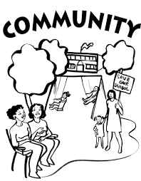 coloring pages free coloring pages of munity community helpers