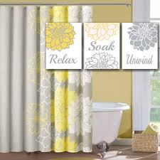 yellow and gray bathroom ideas popular items for yellow gray bathroom on etsy floral wall