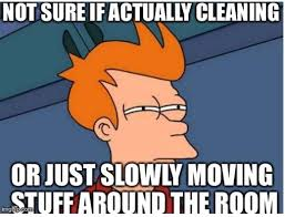 Cleaning Meme - five cleaning memes