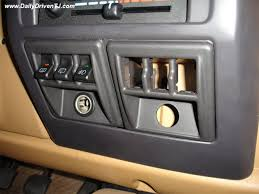 jeep wrangler light switch mod dual switch panel for early tjs