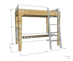 Free Plans For Building A Bunk Bed by Pneumatic Addict How To Build Modern Bunk Beds
