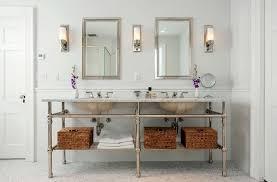 peaceful design ideas bathroom vanity light height on bathroom