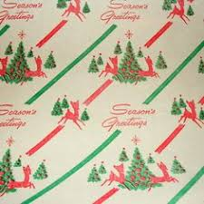vintage christmas wrapping paper rolls vintage wrapping paper with colored bells gift wrapping