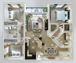 3 bedroom floor plan 3d 3 bedroom house plans tagged modern house plans 3 bedroom house