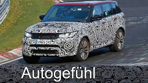 camo range rover 2017 range rover sport svr facelift spy shots camo car erlkönig