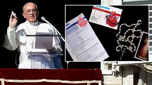 pope francis rosary pope francis jokes he is pharmacist is rx for church attendance