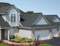 exterior design charming home exterior design using gray gaf charming home exterior design using gray gaf timberline hd roof matched with horizontal white siding and glass windows plus white garage door ideas