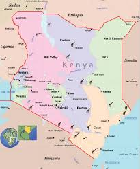 Kenya Blank Map by Map Kenya Foto Nakal Co