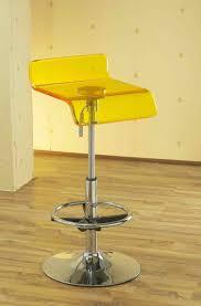 yellow metal bar stools