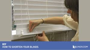 How To Become A Home Decorator How To Shorten Blinds Wood And Fauxwood U0026raquo Diy