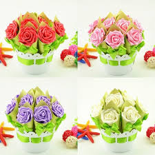 flower pot favors 4 sets creative flower pot wedding favors gifts luxury