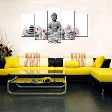 contemporary wall decor buddha statue hd print on canvas home