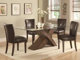 Cheap Kitchen Tables by Furniture Impressive Black Chairs And Round Glass Table Cheap