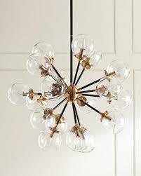 18 Light Starburst Chandelier Chandelier Lighting At Neiman Marcus Horchow
