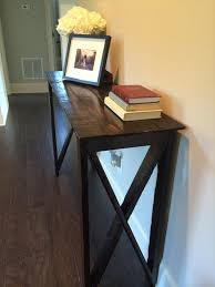 Hallway Accent Table Inspiring Hallway Accent Table Diy Pallet Hallway Table Pallet