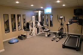 ideas home gym ideas with interior paint ideas and mirrored walls