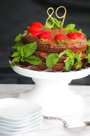 healthy chocolate cake recipe with mint clean cuisine