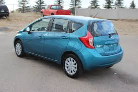 silver nissan versa used 2015 nissan versa note s hatchback near moose jaw 1847
