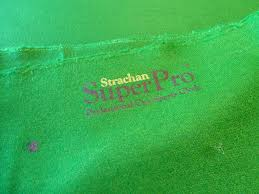 pool table re cover in strachan super pro speed cloth gcl billiards