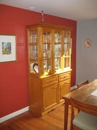 Color Schemes For Living Room With Brown Furniture Curio Cabinet Splendiferous Red And Grey Kitchen Wall Colors