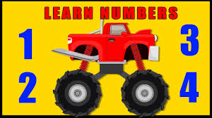 videos of monster trucks for kids learn numbers songs for children learn numbers with monster