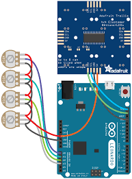 circuit diagram mini untztrument 3d printed midi controller