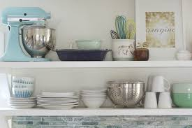 open shelving in kitchen kitchen organization with open shelving cassie bustamante