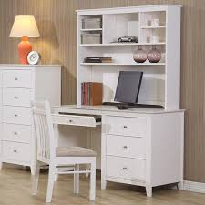 White Computer Desk With Hutch Sale Serena Student Desk Hutch Set With Regard To And Ideas 15