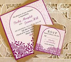 Wedding Invitation Sets Die Besten 25 Lilac Wedding Invitation Sets Ideen Auf Pinterest