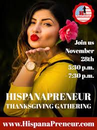 hispanapreneur hispanic business owners thanksgiving