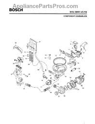 bosch 00263835 circulation pump motor appliancepartspros com