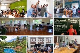 outpost coworking and coliving in paradise