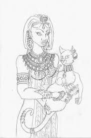 egyptian princess sketch by lizzychrome on deviantart