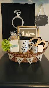 gift baskets to send engagement gift basket send a basket to congratulate the