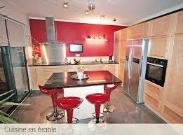 cuisine erable clair atelier du garo cuisines en bois massif érable cuisines
