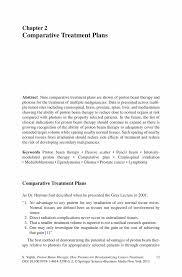 comparative treatment plans springer