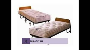 Folding Cot Online Shopping India Folding Roll Away Beds Youtube