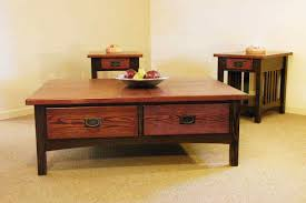 Wooden Coffee Table With Drawers Coffee Tables Custom Furniture George U0027s Furniture Lancaster