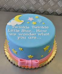 baby shower ideas cakes baby shower cake ideas blue yellow white pink starry