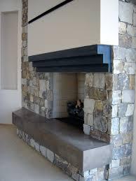 custom concrete fireplace and firepits phoenix az paradise