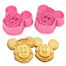 cutter de cuisine de cuisson au four de cuisine 3d mickey mouse minnie biscuits cookie